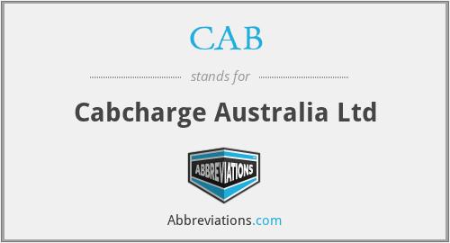 CAB - Cabcharge Australia Ltd