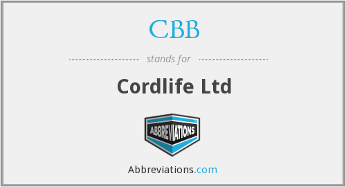 CBB - Cordlife Ltd