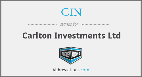 CIN - Carlton Investments Ltd