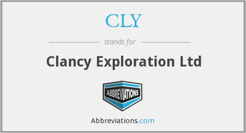 CLY - Clancy Exploration Ltd