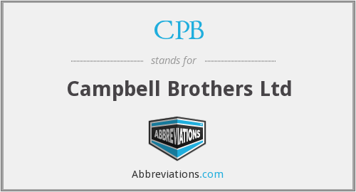 CPB - Campbell Brothers Ltd