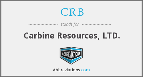 CRB - Carbine Resources, LTD.