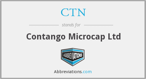 CTN - Contango Microcap Ltd