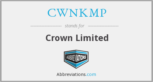 CWNKMP - Crown Limited