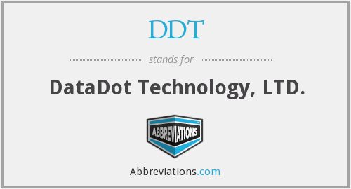 DDT - DataDot Technology Ltd
