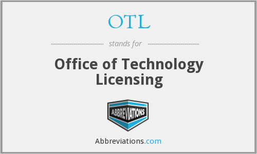 OTL - Office of Technology Licensing