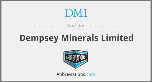 DMI - Dempsey Minerals Limited