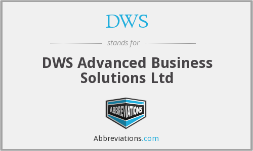 DWS - DWS Advanced Business Solutions Ltd