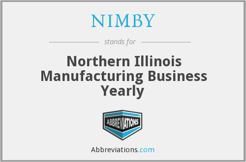 NIMBY - Northern Illinois Manufacturing Business Yearly