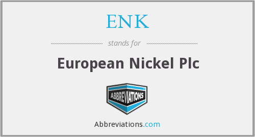 ENK - European Nickel Plc