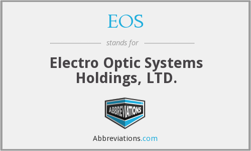EOS - Electro Optic Systems Holdings, LTD.