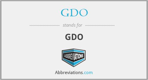 GDO - GDO