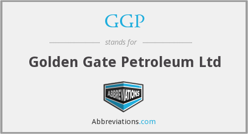 GGP - Golden Gate Petroleum Ltd