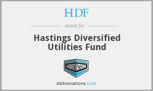 HDF - Hastings Diversified Utilities Fund