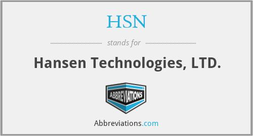 HSN - Hansen Technologies, LTD.