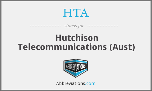 HTA - Hutchison Telecommunications (Aust)