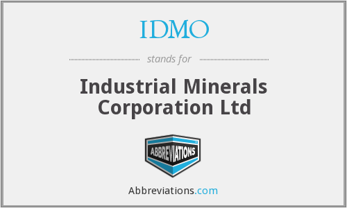 IDMO - Industrial Minerals Corporation Ltd