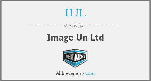 IUL - Image Un Ltd
