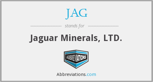 JAG - Jaguar Minerals, LTD.