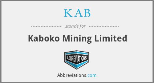 KAB - Kaboko Mining Limited