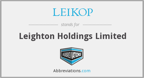 What does LEIKOP stand for?