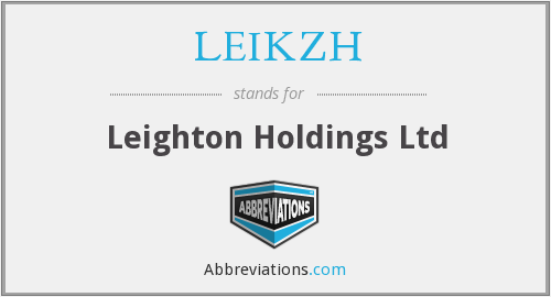 What does LEIKZH stand for?
