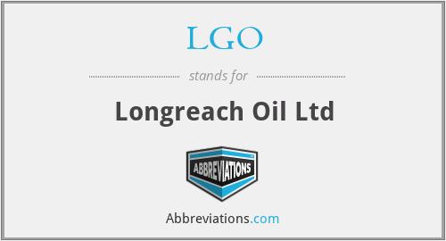 LGO - Longreach Oil Ltd