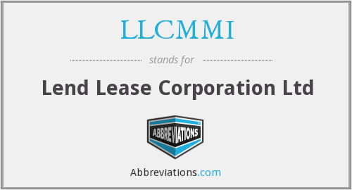 What does LLCMMI stand for?