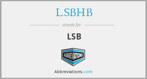 What does LSBHB stand for?