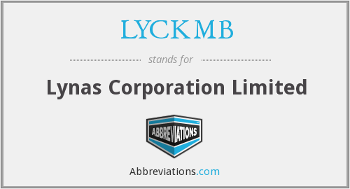 What does LYCKMB stand for?