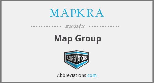 What does MAPKRA stand for?