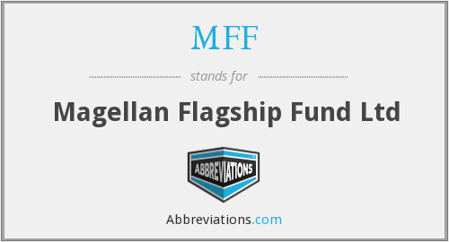 What does MFF stand for?
