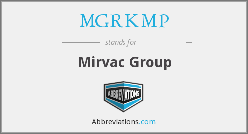 What does MGRKMP stand for?