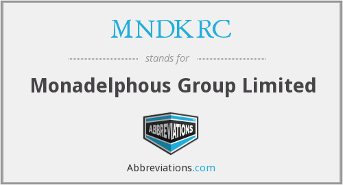 What does MNDKRC stand for?