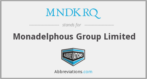 MNDKRQ - Monadelphous Group Limited