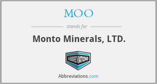 MOO - Monto Minerals, LTD.