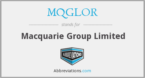 MQGLOR - Macquarie Group Limited