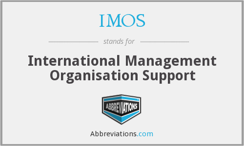 IMOS - International Management Organisation Support