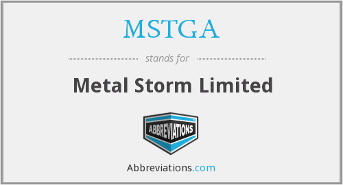 What does MSTGA stand for?