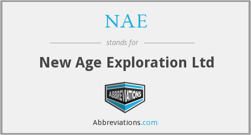 NAE - New Age Exploration Ltd