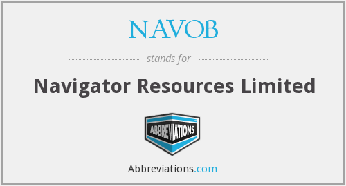 What does NAVOB stand for?
