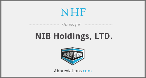 NHF - NIB Holdings, LTD.
