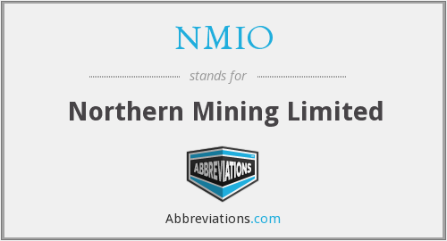 What does NMIO stand for?