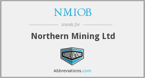 What does NMIOB stand for?