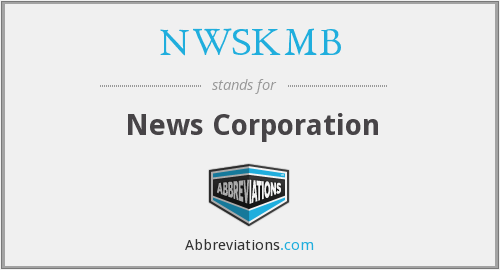 NWSKMB - News Corporation