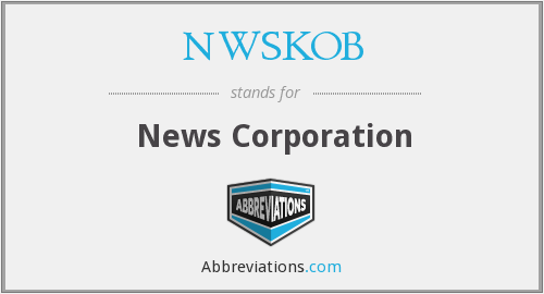 What does NWSKOB stand for?