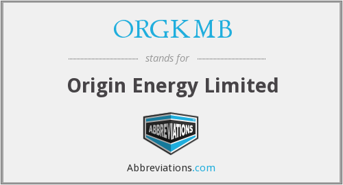 What does ORGKMB stand for?