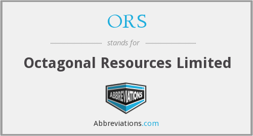 ORS - Octagonal Resources Limited