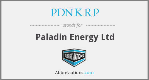 What does PDNKRP stand for?
