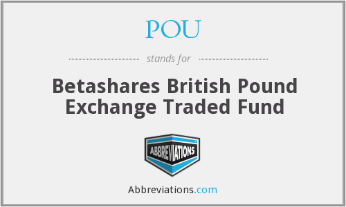 POU - Betashares British Pound Exchange Traded Fund